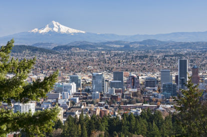 view of portland oregon